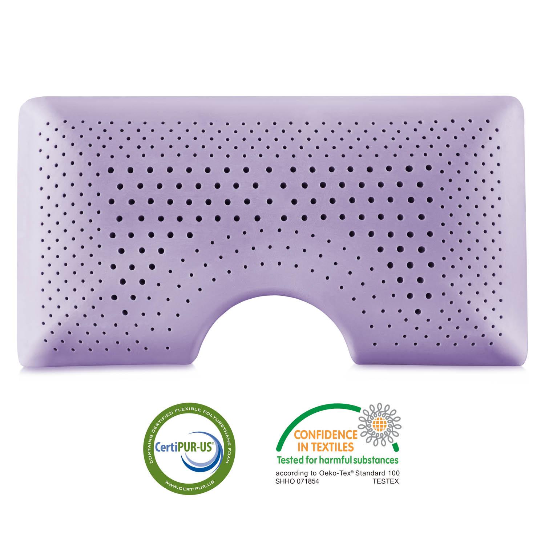Z Shoulder Zoned Dough 174 Lavender Live Well Furnishings