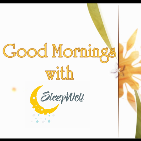 Good Mornings with Sleep Well Cover Theme