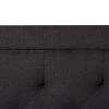 Charocoal Rectangle Headboard