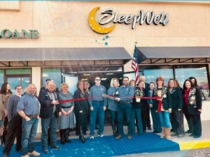 Ribbon Cutting for Sleep Well Alamogordo