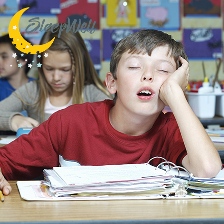 child grades suffer from lack of sleep