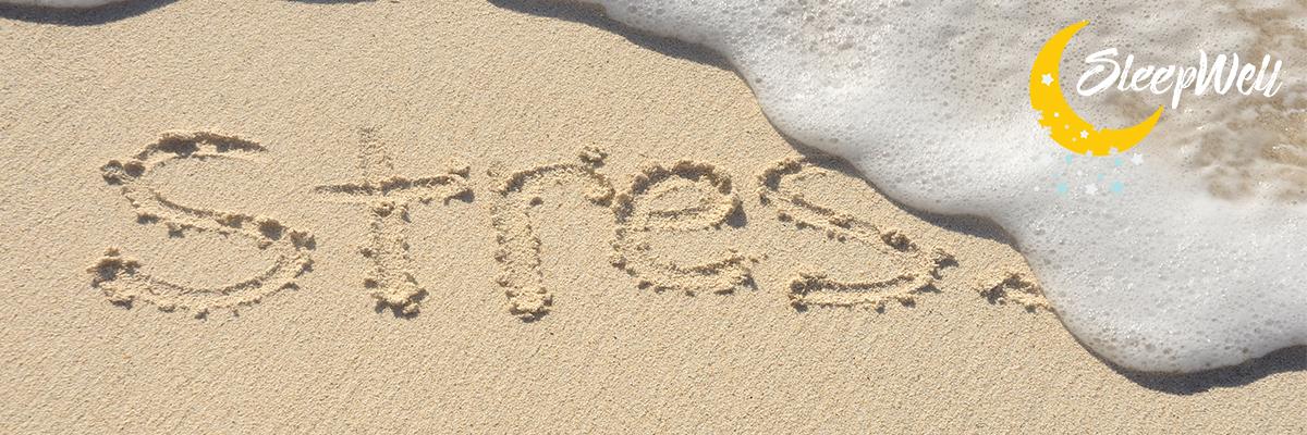 stress less sleep better