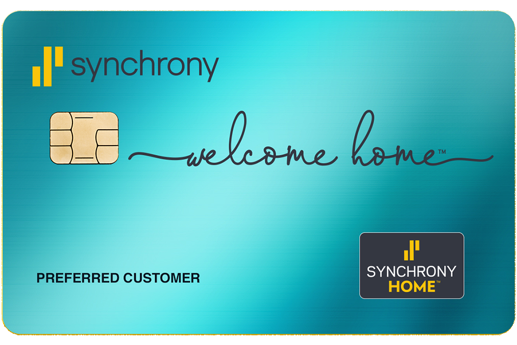 synchrony financing offered at sleep well for easy sleeping
