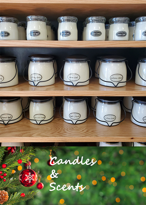 Milkhouse Candles available at Live Well