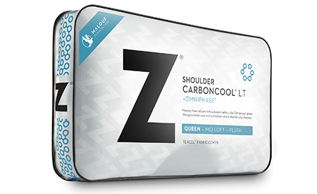 Carbon Cool Shoulder LT cooling pillow at Live Well Mattress & Furnishing Centres