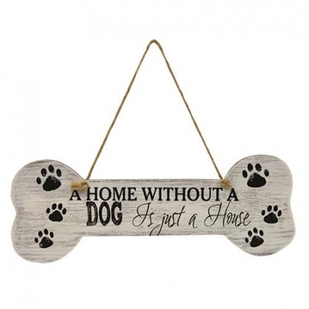 Home without a dog wall decor